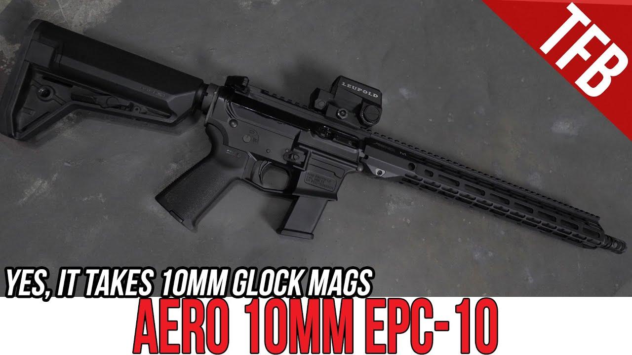 Aero's New Glock-mag-fed 10mm AR-15: The EPC-10