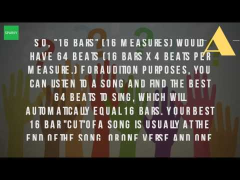 What Are 16 Bars Of A Song?