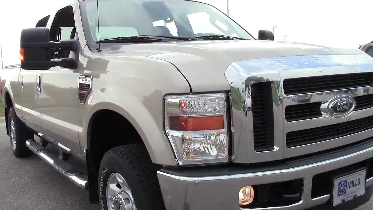 2010 ford super duty f 250 srw crew cab xlt 4wd youtube