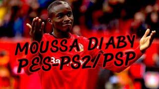 Como crear a Moussa Diaby / PES 2020 ps2/psp