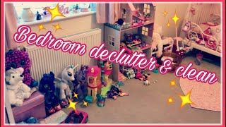 DECLUTTERING, SORTING & CLEANING MY DAUGHTERS ROOM
