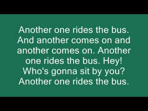 Another One Rides The Bus Official Lyrics.wmv