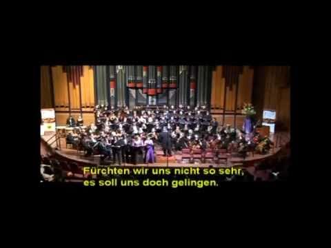 Mendelssohn 5 Choral Symphony - finale