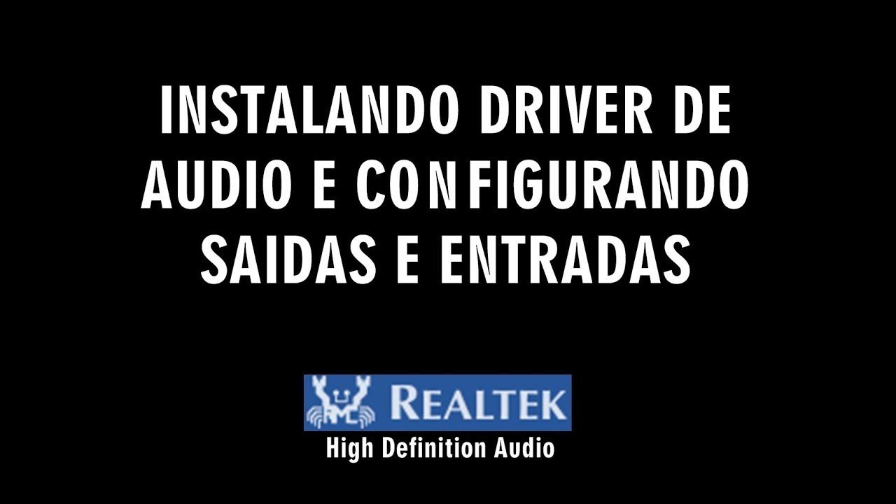 DEFINITION BAIXAR AUDIO DO DE HIGH AUDIO NO BARRAMENTO DISPOSITIVO
