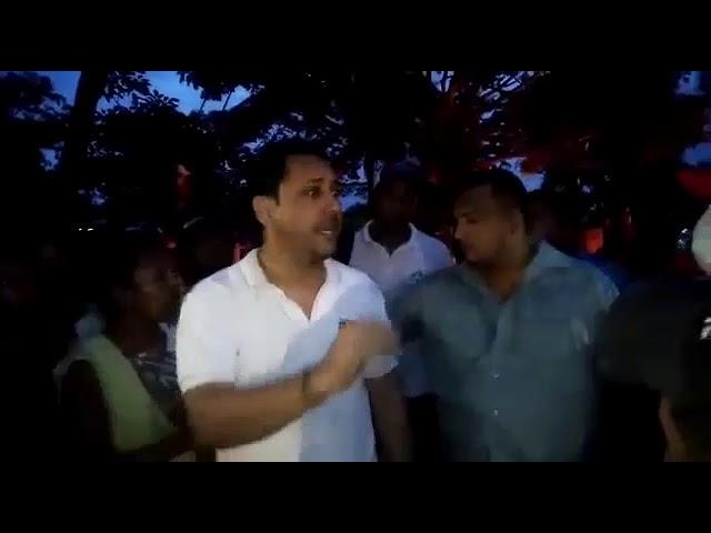 Disturbios en Guamal y mediación del Alcalde por fallas en servicio de electricidad