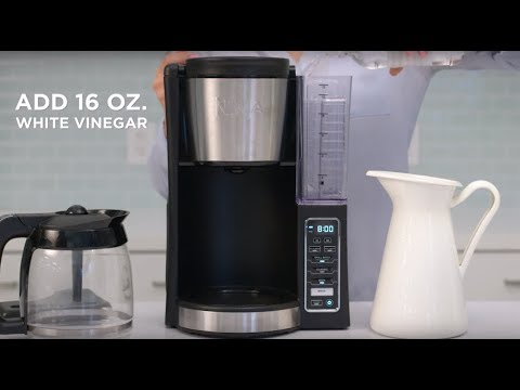 How to Maintain the Ninja® 12-Cup Coffee Brewer to ensure great tasting coffee (CE200 Series)