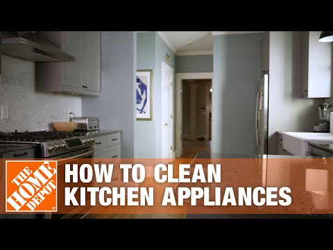 How to Clean Kitchen Appliances | Appliance Cleaning Tips