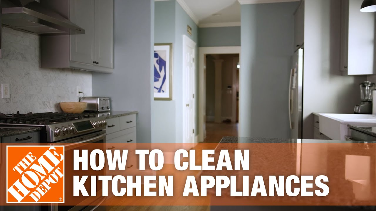 How to Clean Kitchen Appliances | Appliance Cleaning Tips - YouTube