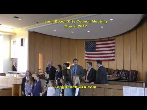 Long Beach City Council Meeting 05/02/17