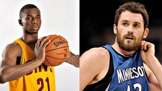 NBA Fan Reaction to Andrew Wiggins Trade For Kevin Love!!