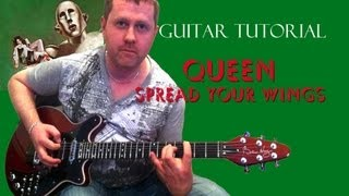 Spread Your Wings - Queen - guitar tutorial