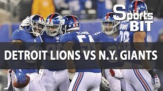 Lions vs Giants Week 15 | Sports BIT | NFL Picks & Preview