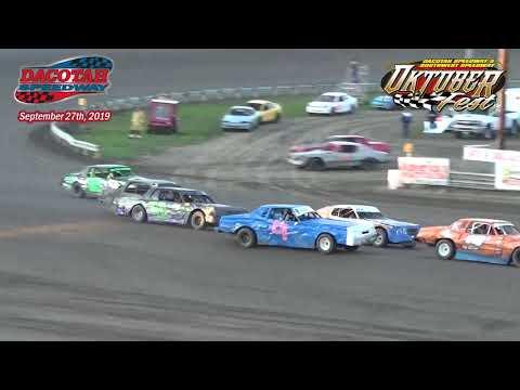 Dacotah Speedway Hobby Stock Heats (Oktoberfest) (9/27/19)