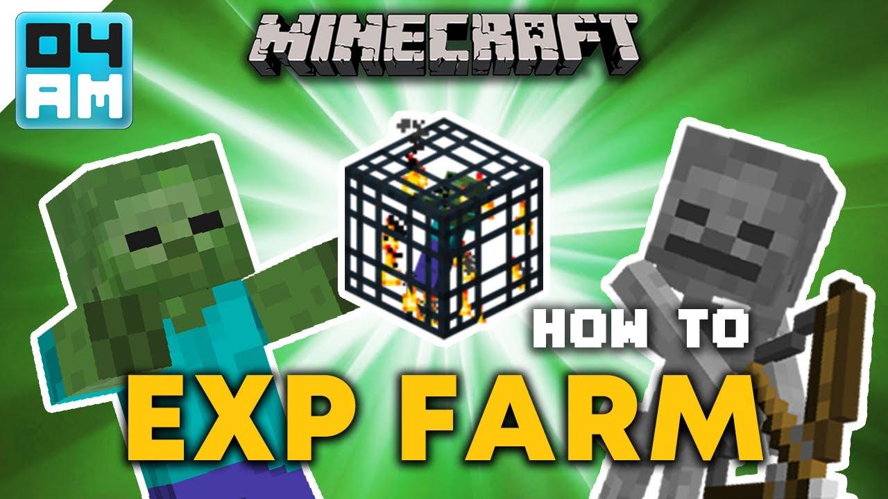 EASY Zombie & Skeleton Mob Spawner XP Farm Tutorial - Minecraft 12.126.12 (No  Redstone) 122