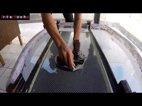 Carbon Celup Knalpot Vario 150 (Hydrographic/Water Printing)