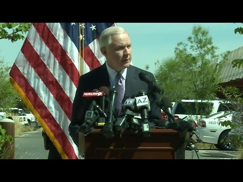 Watch: Attorney General Jeff Sessions speaks at U.S.-Mexico Border