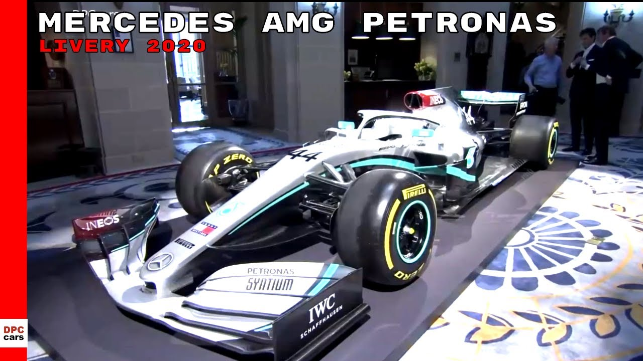 Mercedes Amg Petronas Reveal New Formula 1 Livery For 2020 Season Youtube
