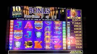 Spielo - King's Fortune Bonus Round - Finger Lakes Casino & Racetrack