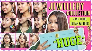 My *HUGE* Jewellery Collection |Best Of Chandni Chowk, Sarojini Nagar, Sadar Bazaar & Dilli Haat!