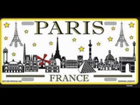 Travel paris monuments taxi vtc