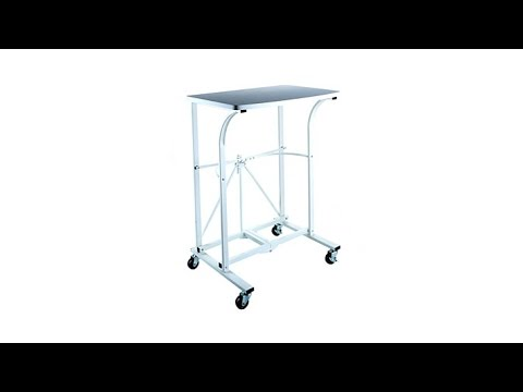 Origami Folding Trolley Table Youtube