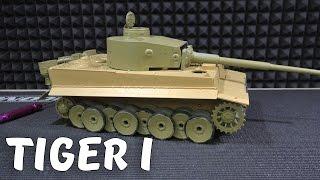 Сборка Радиоуправляемого Танка, Часть 1 ...  Р/У Танк Taigen German Tiger I Kit