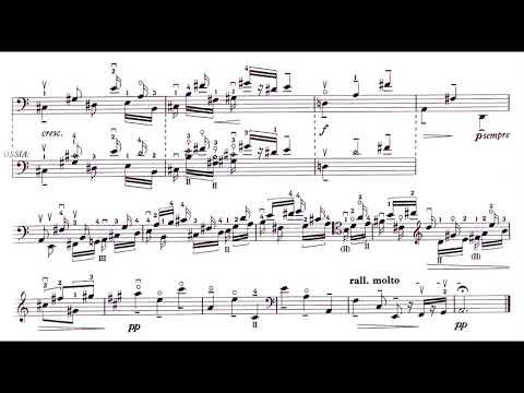 Benjamin Britten - Cello Suite No. 2, Op. 80 (1967) [Score-Video]