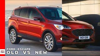 2020 Ford Escape - Old vs New