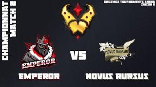 Gold League Championship #3 - Emperor vs Novus Rursus - Match 2