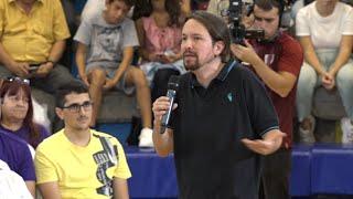 Iglesias asegura que el plan de Sánchez es gobernar con Casado