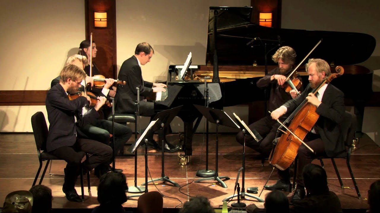 Vierne - Quintet for Piano, Two Violins, Viola, and Cello, Op. 42, Mvt. II. Larghetto sostenuto