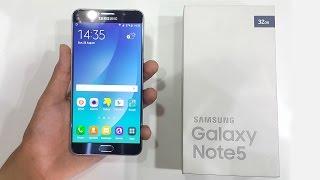 فتح صندوق ومراجعة الجالاكسى نوت 5 - Samsung Galaxy Note 5