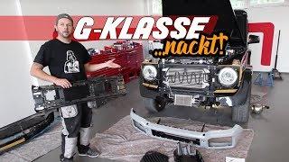 Umbau G Klasse G350 Diesel auf G63 AMG V8 Motorsound Active Sound Auspuffanlage G63 Auspuff Schawe