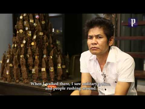 Cambodian artist hits the big time