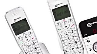 Produktvideo zu Schwerhörigen-Telefon geemarc AmpliDECT 295-2 DUO