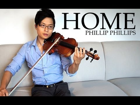 Home - Violin and Piano Cover - Phillip Phillips - Daniel Jang