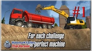 Construction Simulator 2014 Android & iPhone / iPad (iOS) GamePlay #1