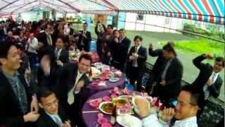 花蓮石梯坪港口部落 阿美族結婚歡樂場景 值得感受