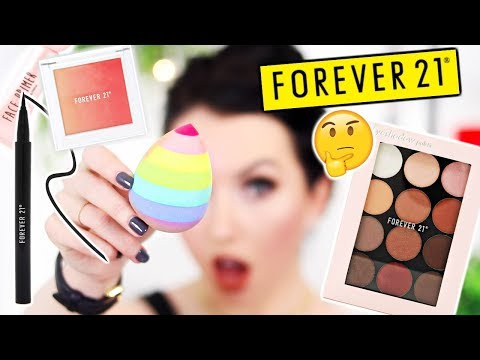 FOREVER 21 MAKEUP...IS IT LEGIT?! First Impressions