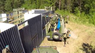 Berget 15 - NAF Mechanized Captures a Fort in 5 Seconds Flat