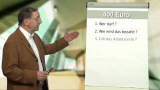Informationsfilm zu sog. 400 Euro und Midi Jobs