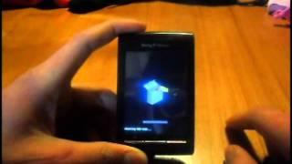 restauracion android 2.2 a 2.1 (xperia x8)