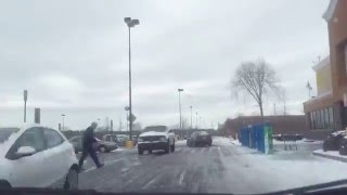 Time lapse — Going to Walmart