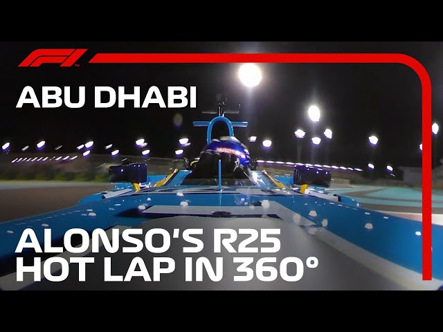 Fernando Alonso's R25 Hot Lap As You've Never Seen It Before