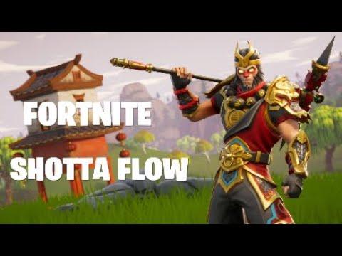 FORTNITE NLE CHOPPA - SHOTTA FLOW MONTAGE