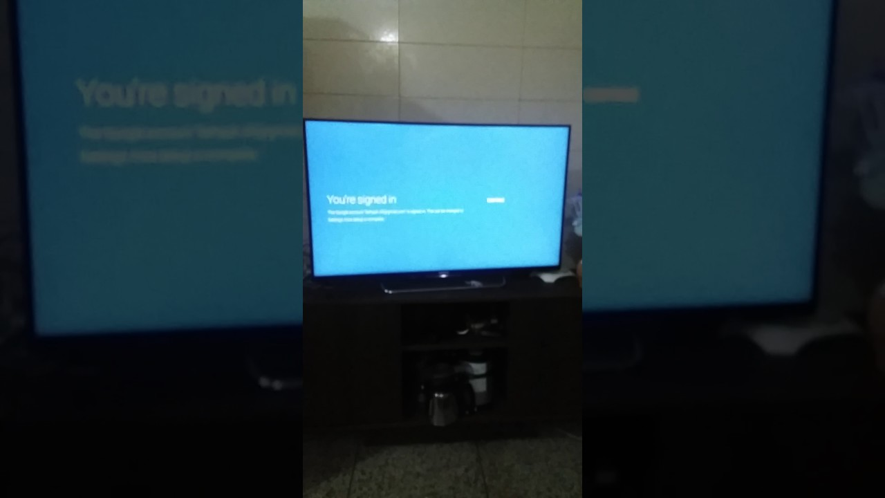 Sony bravia kdl43w800c boot loop problem