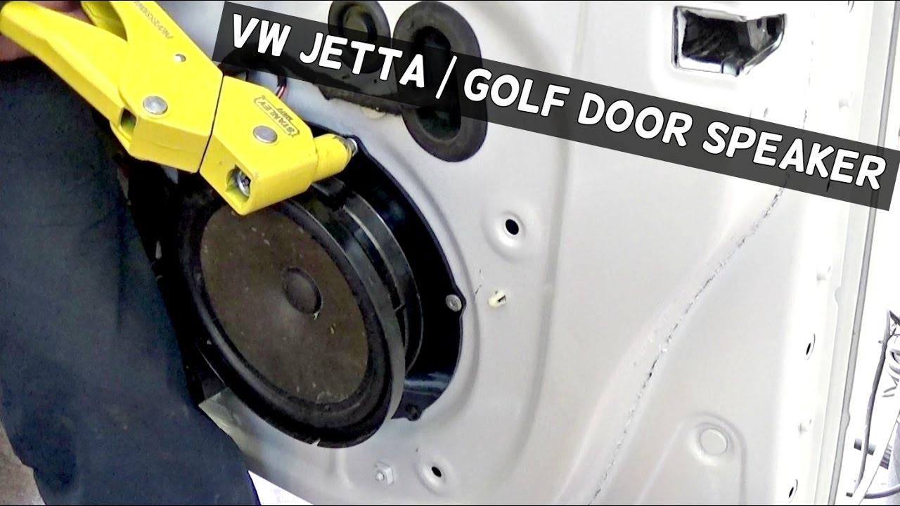 Vw Jetta Golf Mk5 Door Speaker Removal And Replacement