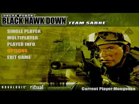 Delta Force: Black Hawk Down Steam version in Widescreen