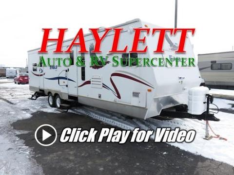 HaylettRV - 2005 Jayco Eagle 322FKS Front Kitchen Rear Bed Slide Used Travel Trailer