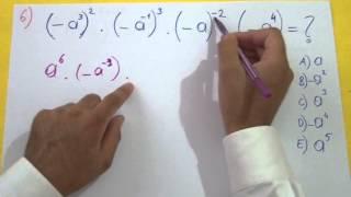 Üslü Sayılar Soru Çözümü Şenol Hoca Matematik